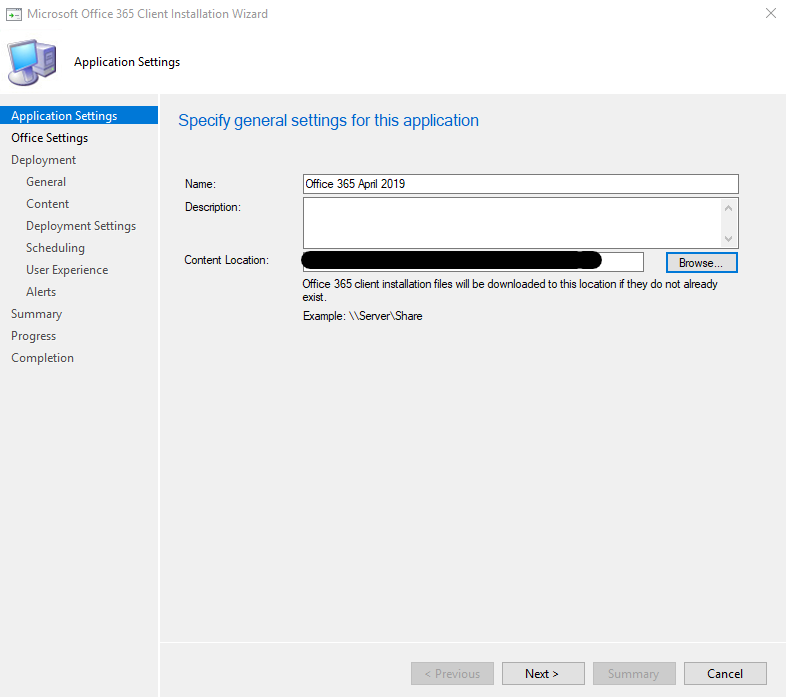How to create and deploy Office 365 with SCCM