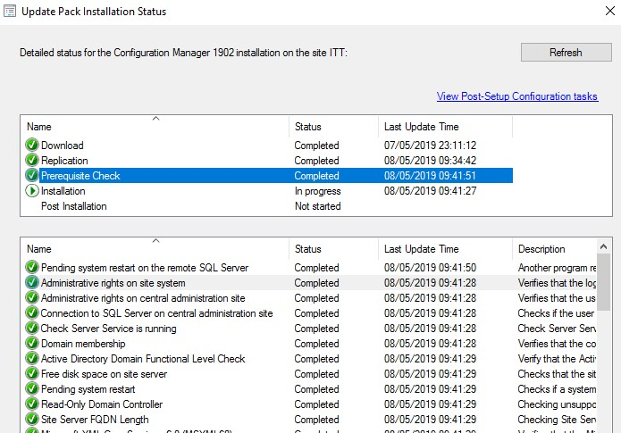Upgrade SCCM CB to 1902 step by step