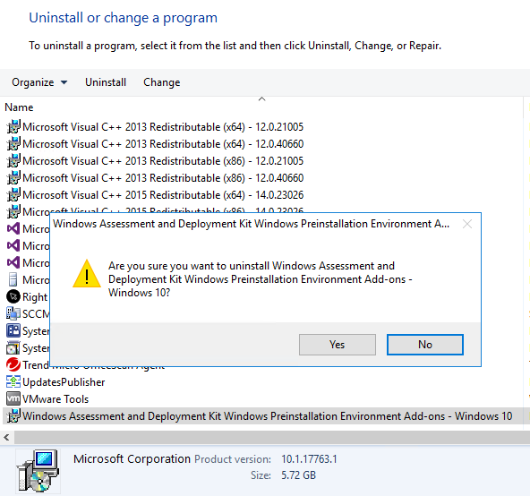 Step-by-Step Guide to Update Windows ADK and WinPE addon on SCCM Server