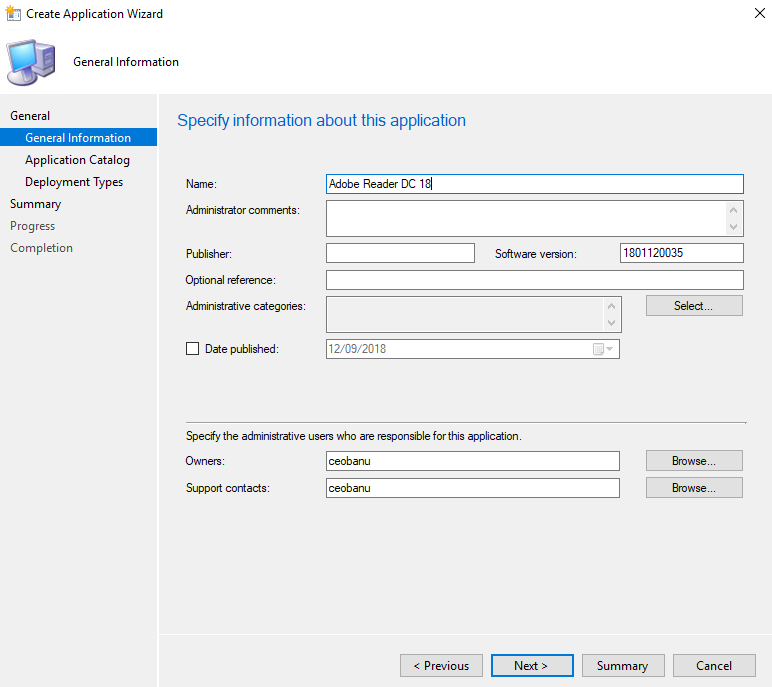 Install Adobe Reader DC with SCCM