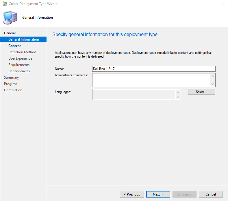 How to upgrade BIOS with SCCM for all managed computers