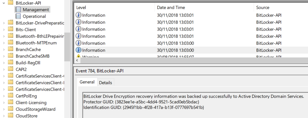 How to use SCCM Task Sequence to enable, configure and monitor Bitlocker