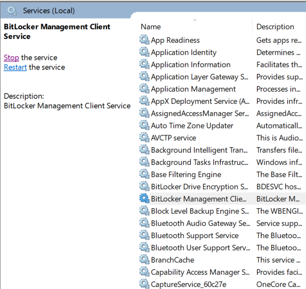 How to manage MBAM (bitlocker) with SCCM, best practices